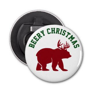 Beery Christmas for Beer Lovers Bottle Opener