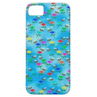 Bees and Flowers Barely There iPhone 5 Case