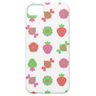 bees and strawberries iPhone 5 cases