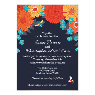 Bees & Blossoms Invitation