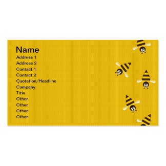 Bees Business Card Template