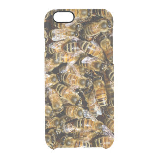 Bees carpet clear iPhone 6/6S case