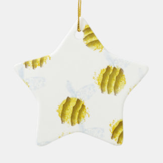 Bees Christmas Ornament