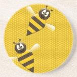 Bees Coaster