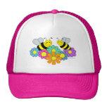 Bees & Flowers Cap
