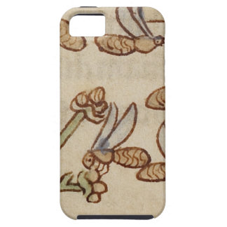Bees from a Medieval Manuscript iPhone 5 Cases