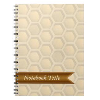 Bees Honeycomb Journal Notebook