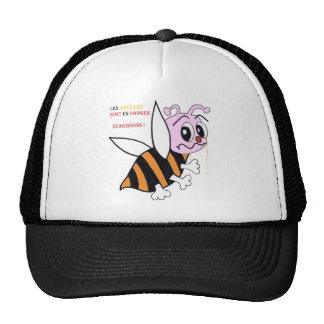 BEES IN DANGER png Hats