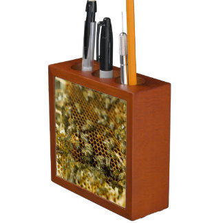Bees In Hive, Western Cape, South Africa Desk Organiser