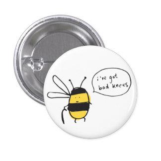 bees knees badge