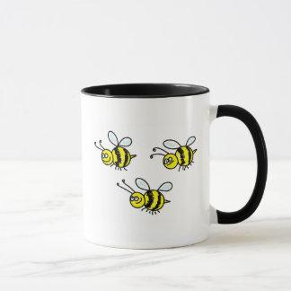 bees mug