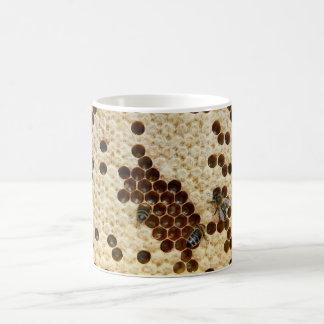 Bees On Honey Comb Mug