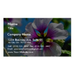 Bees Purple Flowers Business Card Template