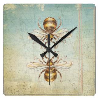 BEEs Square Wall Clock