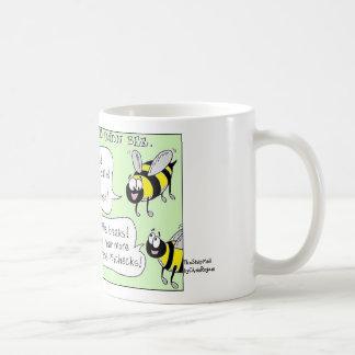 BEES, TheStripMallbyChrisRogers Basic White Mug