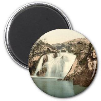 Beesley Falls, Ingleton, Yorkshire, England Magnet