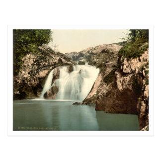 Beesley Falls Ingleton Yorkshire England Postcard