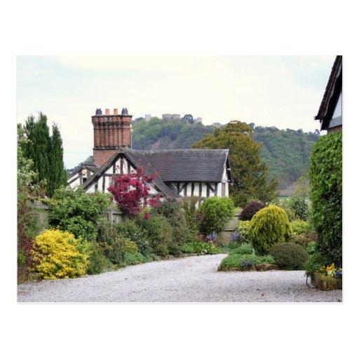 Beeston Castle View Postcard