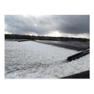 Beeston Weir Postcard