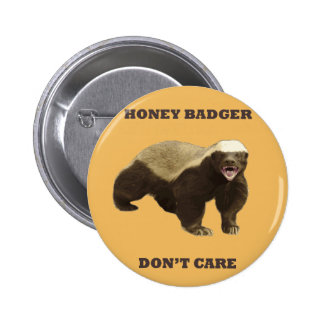 Beeswax Color Honey Badger Dont Care Pin