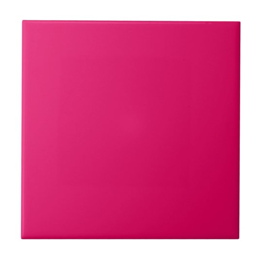 Beet Root Purple Pink Personalised Hot Magenta Small Square Tile
