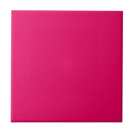 Beet Root Purple Pink Personalised Hot Magenta Tile