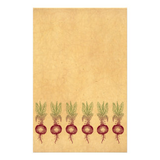 Beet Stationary Stationery
