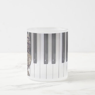 Beethoven and Keyboard Mug