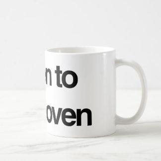 Beethoven Basic White Mug