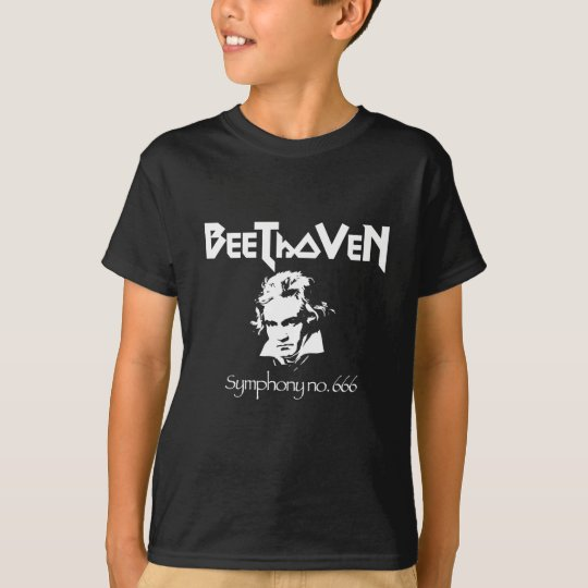 Beethoven Black Metal T-Shirt
