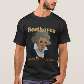 Beethoven Bling T-Shirt