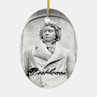 Beethoven Christmas Ornament