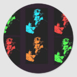 Beethoven Collage Stickers