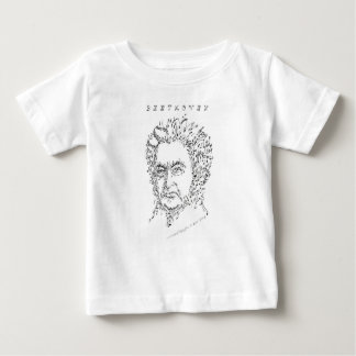 Beethoven Face the Music Baby T-Shirt