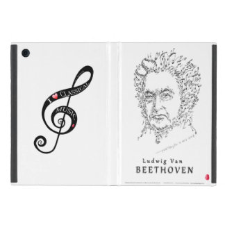Beethoven Face the Music iPad Mini Case