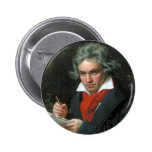 Beethoven Flair 6 Cm Round Badge