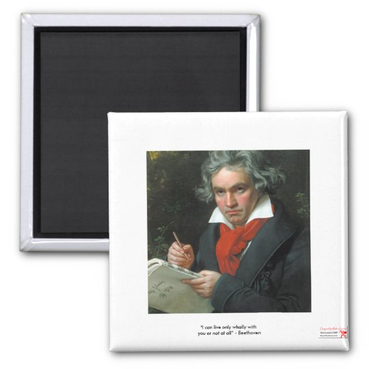 Beethoven Gifts Tees Collectibles ON SALE Square Magnet