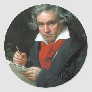 Beethoven Gifts Tees Collectibles ON SALE Classic Round Sticker