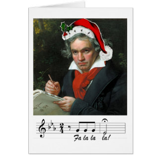 Beethoven Holiday Card