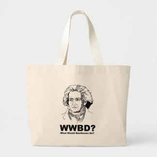 Beethoven Jumbo Tote Bag