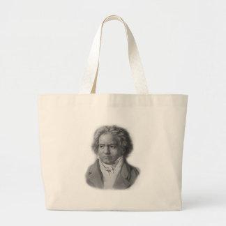 Beethoven Large Tote Bag