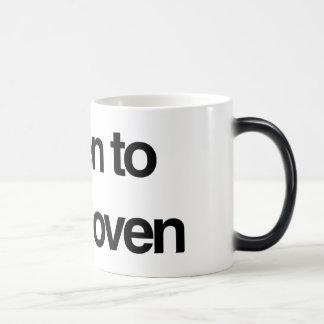 Beethoven Morphing Mug