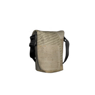 Beethoven Music Manuscript Medley Commuter Bags
