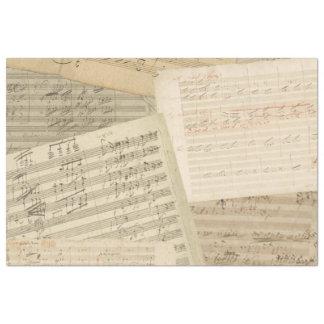Beethoven Music Manuscript Medley Tissue Paper