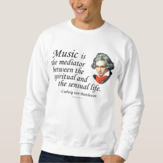Beethoven on Music Sweatshirt
