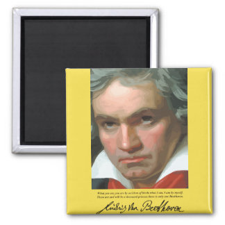 Beethoven '..only one Beethoven ' quote magnet