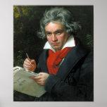 Beethoven Portrait Poster