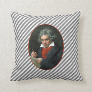 Beethoven Portrait Vintage Reversible Cushion