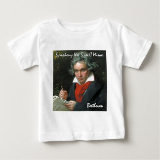 Beethoven Product Fine Art Classical Collection Baby T-Shirt