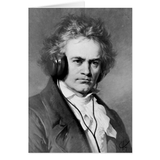 Beethoven Rocks Cards